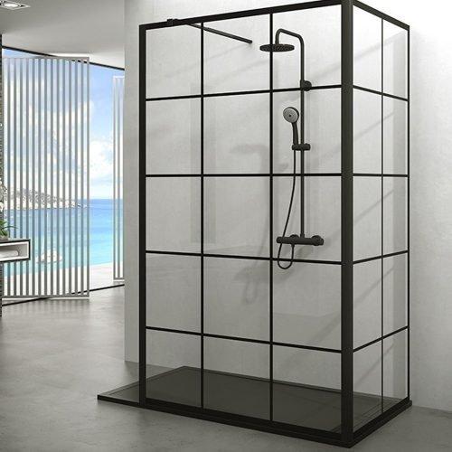 Mamparas de ducha angular